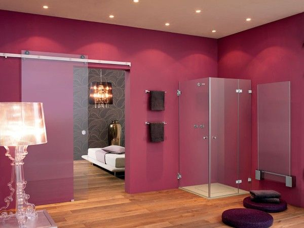 shower1 Transparence and Style  New Frameless Shower from Sprinz