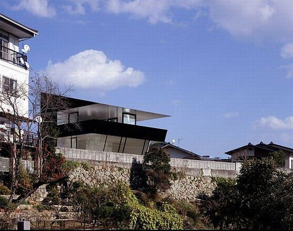 Scenic Mansion by Suppose Design Office 1 The House Caught Between The Sea And The Mountains