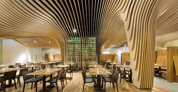 BANQ restaurant by Office dA photos by John Horner Amazing Restaurant Interior Design : Banq Restaurant in Boston