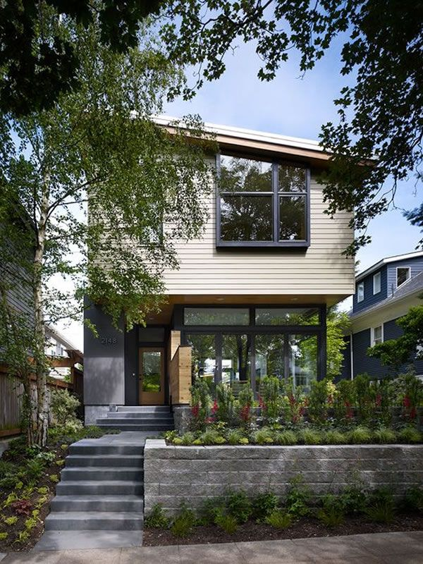 Contemporary Wall House in Seattle 1