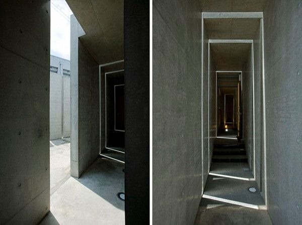 "Slit House in Japan 10 House of Shades and No Windows : ""Slit"" from Eastern Design Office"
