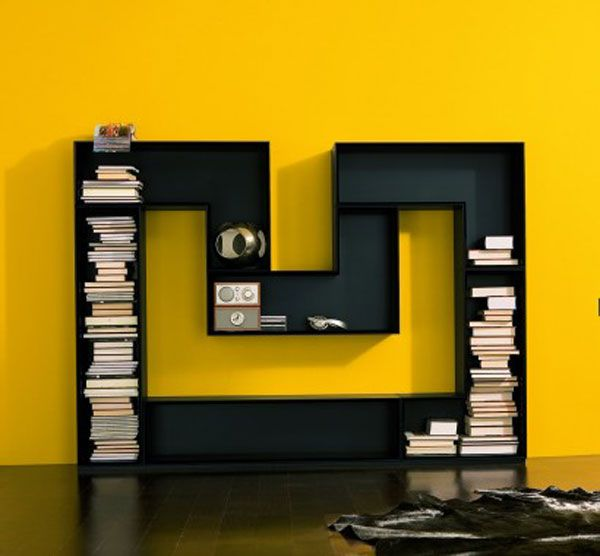 m shaped bookcase M shaped Bookcase from Luxury House