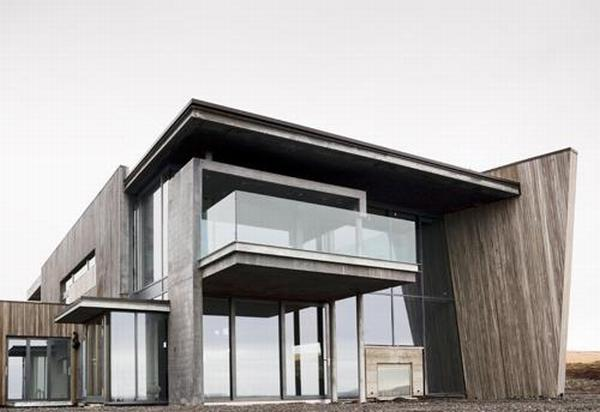 casa g iceland2 Countryhome in Iceland : An Architecture Plan Determined by Nature