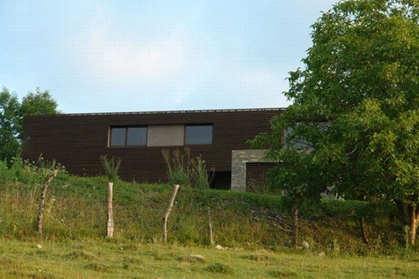 casa talea 2 Private Wooden Residence in Romania: Style and Diversity