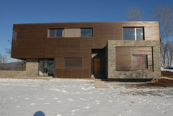 casa talea 3 Private Wooden Residence in Romania: Style and Diversity