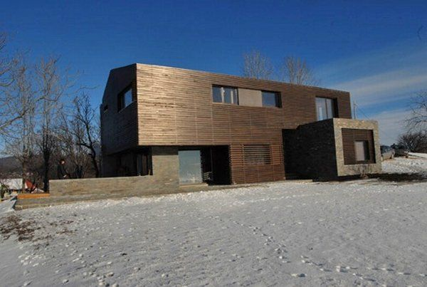 casa talea 4 Private Wooden Residence in Romania: Style and Diversity