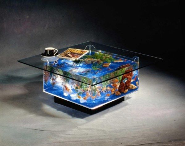 aquarium coffee table Top 20 Unique Contemporary Coffee Tables