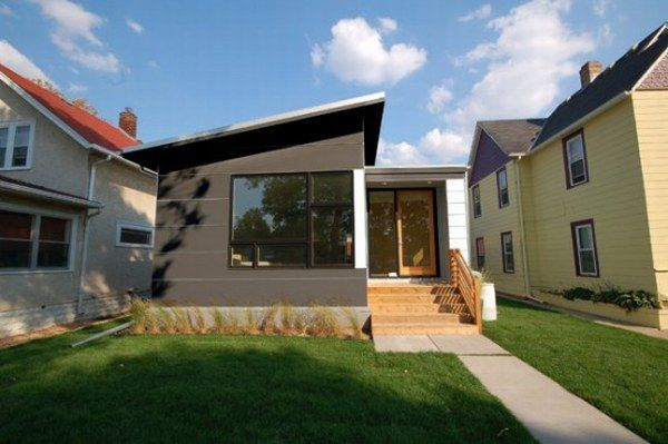 modern small prefab house 1 554x368 Small Contemporary Prefab Home : Easy to Build and Sustainable