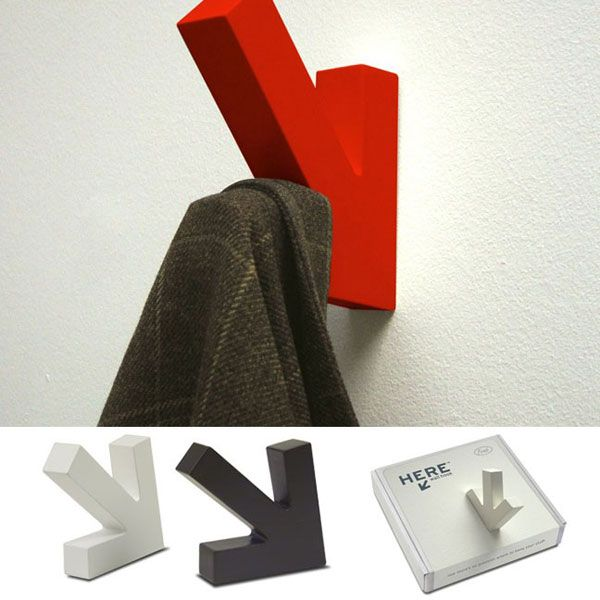 HEREAS1 25 of the Most Creative Wall Hook Designs