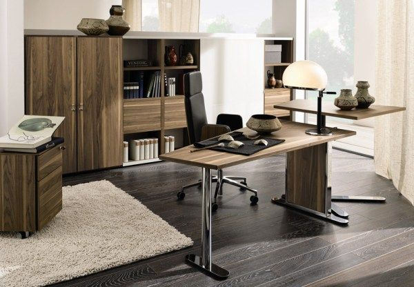 homeoffice desk a by huelsta 31 12 Modern Home Office Ideas : Cozy Enough?