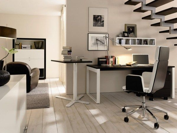 homeoffice writing desk c by huelsta 15 12 Modern Home Office Ideas : Cozy Enough?