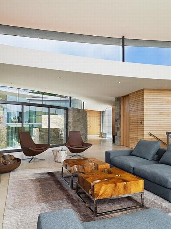 otter cove carmel california big sur property Spectacular House by the Ocean from Sagan Piechota Architecture