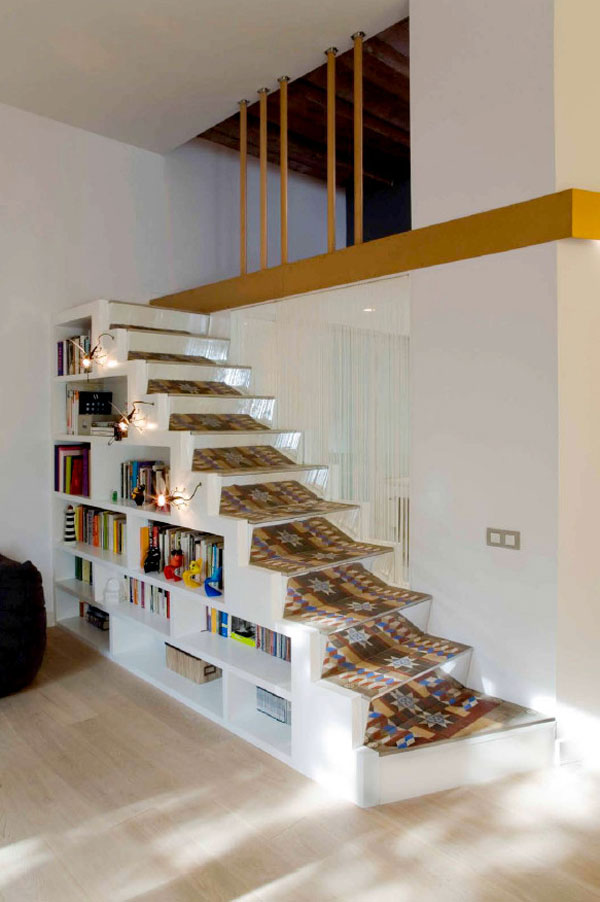 1277472687 miel santpere47 foto 03 Flat Renovation in Barcelona, Based on Strong Visual Effects