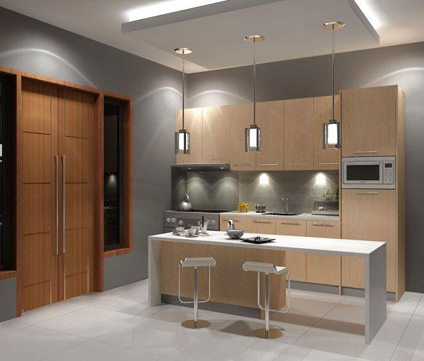7Maple Kitchen by dutdee 25 Modern Kitchen Designs That Will Rock Your Cooking World