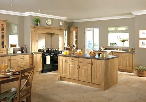 Rossapenna Winchester Oak1 25 Inspiring and Delightful Traditional Kitchen Designs