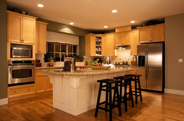 luxury kitchen design 20101 25 Inspiring and Delightful Traditional Kitchen Designs