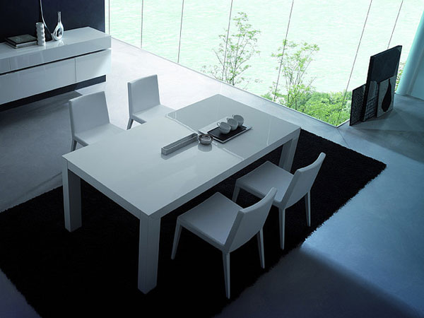 modern dining table How to Add Modern Décor Touches to Your Home