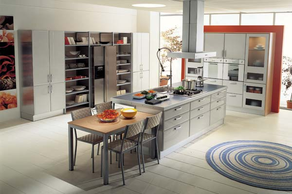 modern kitchen cabinets tidra4 25 Modern Kitchen Designs That Will Rock Your Cooking World