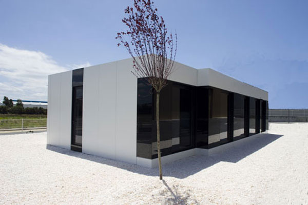 modular house exterior design New Modular Show House by A cero in Coruña