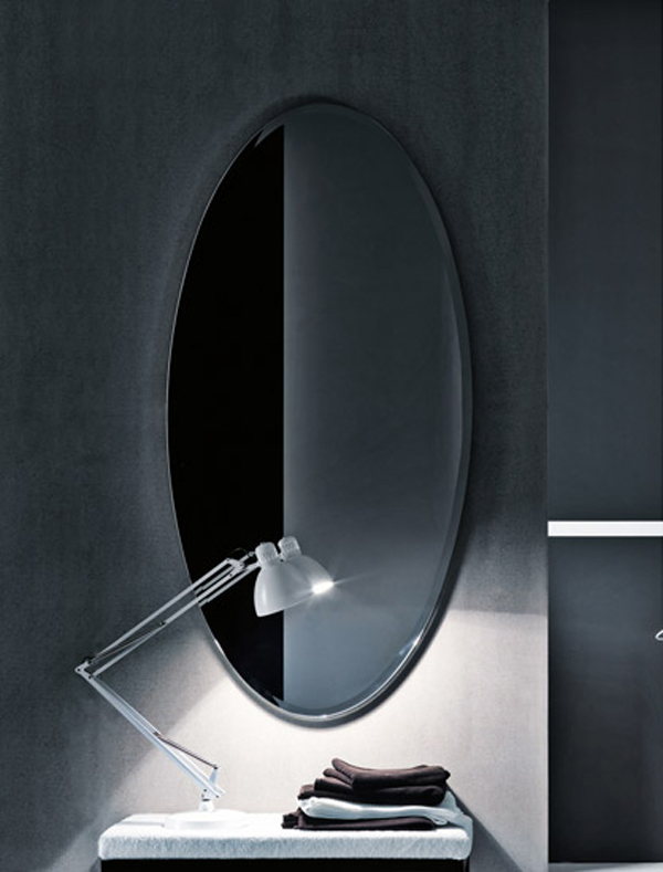 COCO Falper 7 Gorgeous Textured Bathroom Furniture in Black and White from Falper