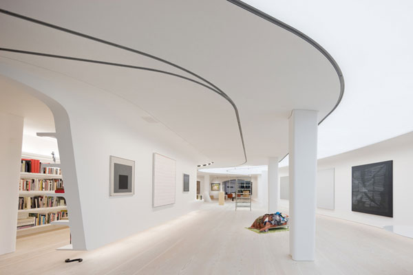 The Collector's Loft, Art Gallery and Living Space Combined