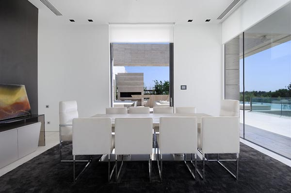 beautifu home architecture building acero archiects dining room Amazing House That Offers the Maximum Life Quality by A cero