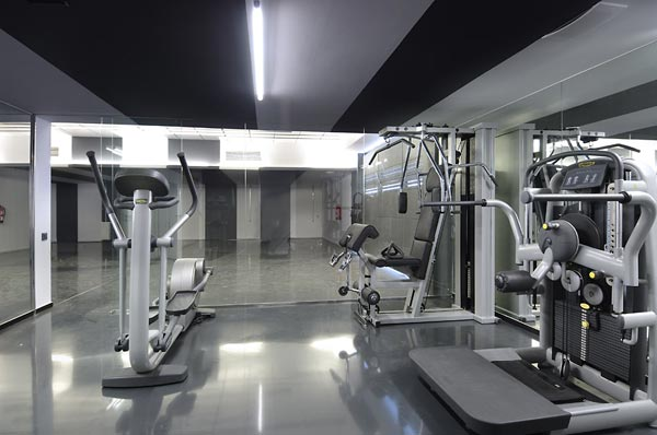 beautifu home architecture building acero archiects gym Amazing House That Offers the Maximum Life Quality by A cero