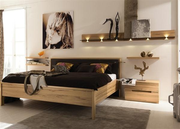 Great Lighting Contemporary Natural Bedroom Interior Design Dreamy Bedroom Furniture from Hulsta