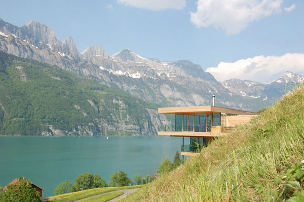 wh 191010 01 940x624 Sweet Nature Getaway: The Walensee Mountain Home in Switzerland