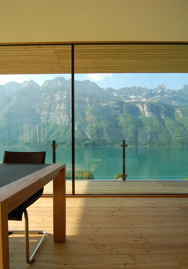 wh 191010 11 Sweet Nature Getaway: The Walensee Mountain Home in Switzerland