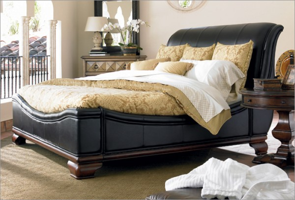 leather bed e1288975647661 home renovations