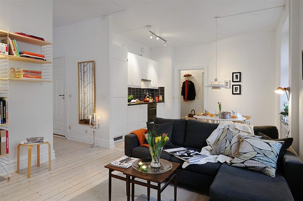 Collect This Idea Well Planned Small Apartment With A Fresh Interior Design