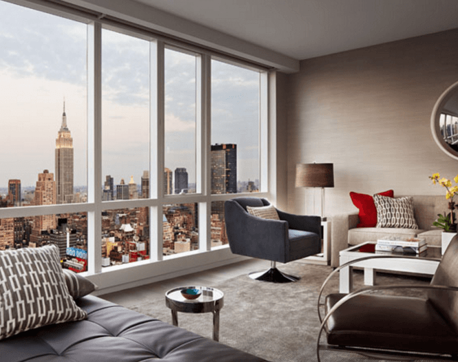 Living Room At One Mima Tower
