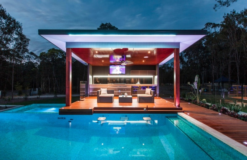40 Sublime Swimming Pool Designs for the Ultimate ... on Cabana Designs Ideas id=48432
