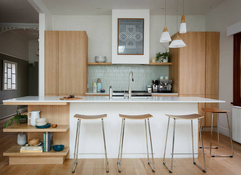 Mid-Century Modern Small Kitchen Design Ideas You'll Want ... on Modern Kitchen Remodel  id=54842
