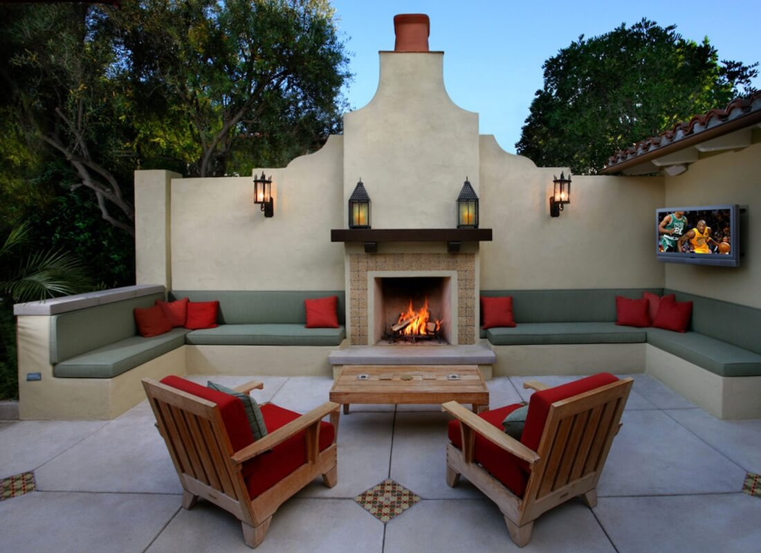 20 of the Coolest Outdoor Fireplaces | Freshome.com on Outdoor Fireplaces Ideas  id=26415