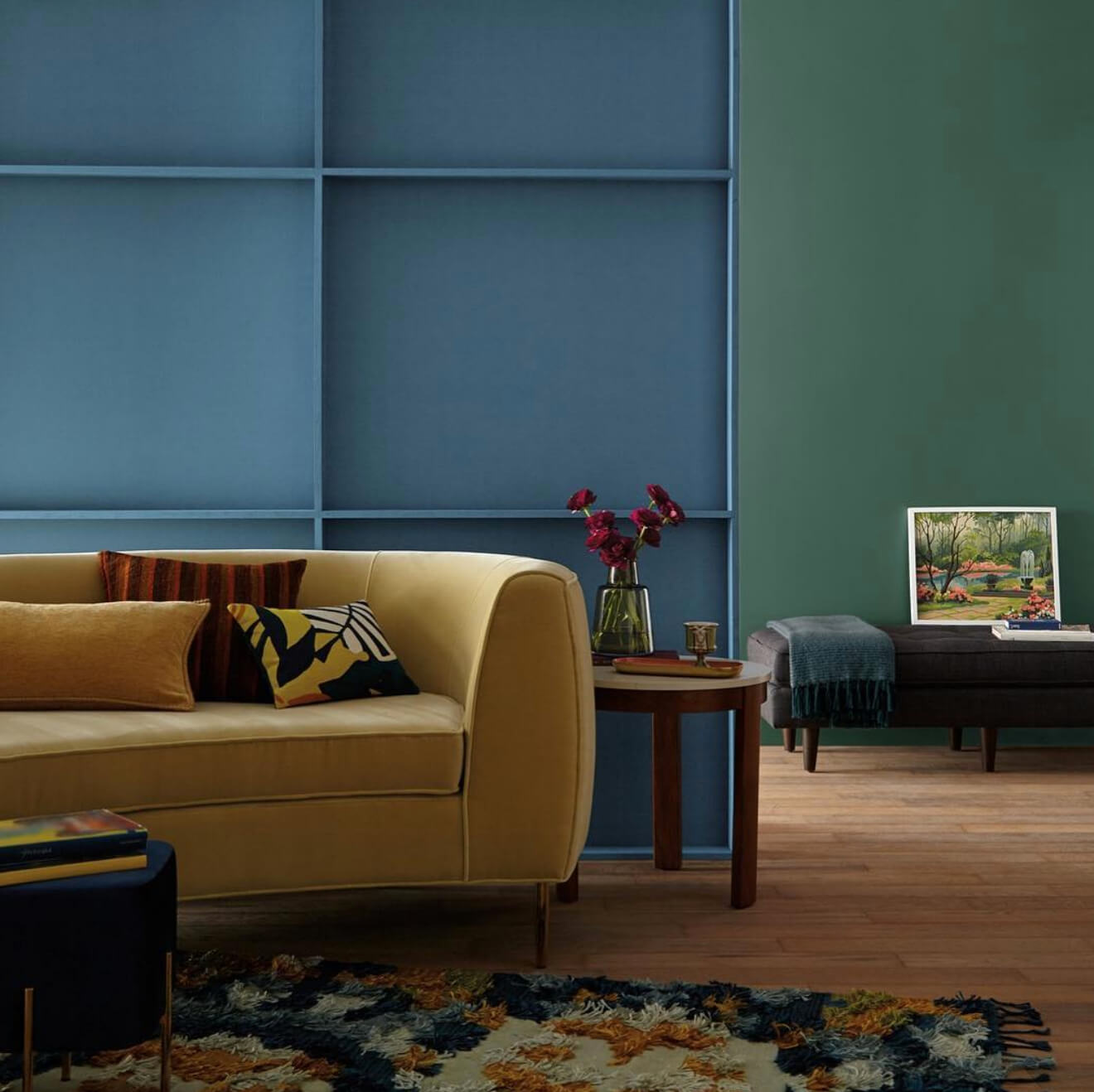 Decorating Ideas For Behr Blueprint 2019 Color Of The Year