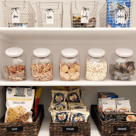 home organization resolutions - pantry