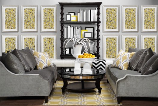 decorating with yellow decor
