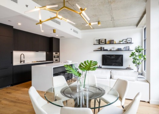 decorating ideas for open floor plans and lofts