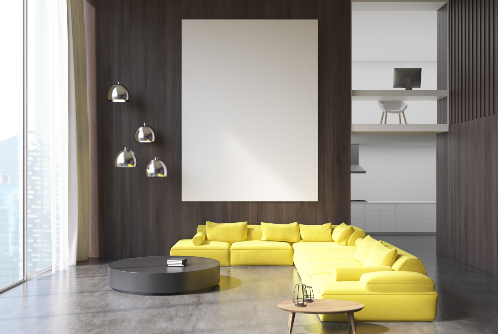 Get Ready To Fall In Love With These 4 Living Room Trends ... on Room Wall Decor id=23893