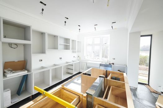 Would you move out during a kitchen renovation?