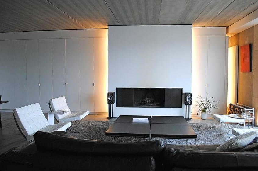 21 Fantastische Gestaltungsideen Fr Schwarz Weie Wohnzimmer FresHouse