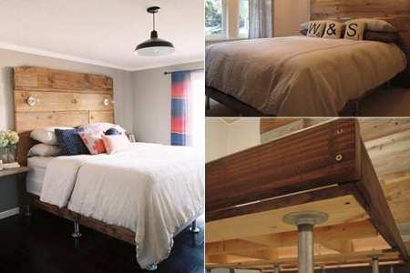 Außergewöhnliche betten selber bauen  Home Decor ideeën » betten aus holz | Thehultonbridge