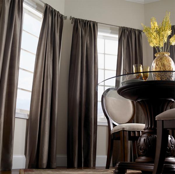 black curtain color design ideas and
