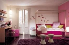 Unique Pink bedroom