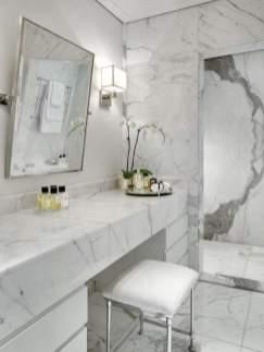 Sumptuous Marble Bathroom Design Photos 35