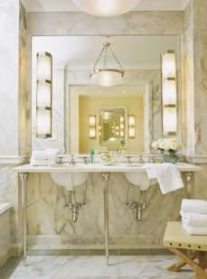 Sumptuous Marble Bathroom Design Photos 37