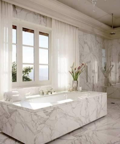 Sumptuous Marble Bathroom Design Photos 47