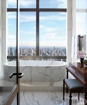 Sumptuous Marble Bathroom Design Photos 48